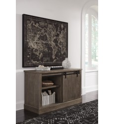 Ashley - Luxenford H741 Large Credenza - Grayish Brown (H741-46)