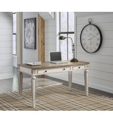 Ashley - Realyn H743 Home Office Desk - Two-tone (H743-34)