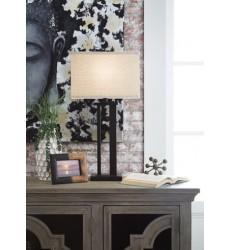 Ashley - Aniela L204074 Metal Table Lamp (2/CN) - Bronze Finish (L204074)