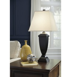 Ashley - Amerigin Poly Table Lamp (2/CN) - Bronze Finish ( L243154 )