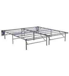 Ashley - Better than a Boxspring M91X King Foundation (2/CN) - Gray (M91X42)