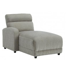 Ashley - Colleyville  54405 LAF Press Back Power Chaise - Stone(5440579)