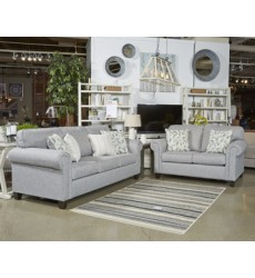 Ashley - Alandari Loveseat - Gray ( 9890935 )