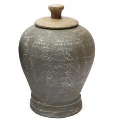Ashley - BARRIC A2000391 Jar - Antique Black (A2000391)