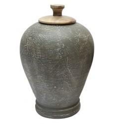 Ashley - BARRIC A2000392 Jar - Antique Black (A2000392)
