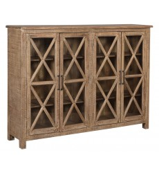Ashley - Veerland  A4000318 Accent Cabinet - Beige(A4000318)