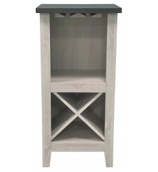 Ashley - Turnley  A4000329 Wine Cabinet - Antique White(A4000329)