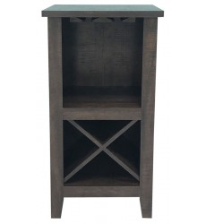 Ashley - Turnley  A4000330 Wine Cabinet - Brown(A4000330)
