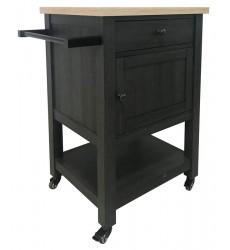 Ashley - Boderidge  A4000332 Bar Cart - Black(A4000332)