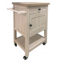 Ashley - Boderidge  A4000333 Bar Cart - Antique White(A4000333)