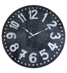 Ashley - Brone A8010167 Wall Clock - Black/White (A8010167)