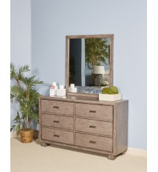 Ashley - Arnett Dresser - Gray ( B552-31 )