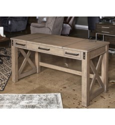 Ashley - Aldwin H837 Home Office Lift Top Desk - Gray (H837-54)