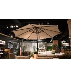 Ashley - Umbrella Accessories  P000 Medium Auto Tilt Umbrella - Brown(P000-987)