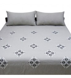 Ashley - Jawanza Q37800 King Comforter Set - Gray (Q378003K)