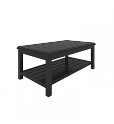 Ashley - Castle Island P414 Rectangular Cocktail Table - Dark Brown (P414-701)