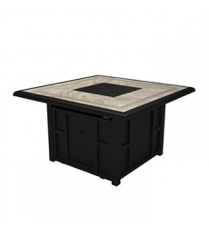 Ashley - Chestnut Ridge P445 Square Fire Pit Table - Brown (P445-772)