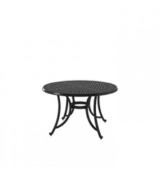 Ashley - Burnella P456 Round Dining Table with Umbrella Option - Brown (P456-615)