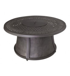Ashley - Burnella P456 Round Fire Pit Table Base - Brown (P456-776B)