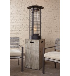 Ashley - Peachstone P655 Patio Heater - Beige/Brown (P655-900)