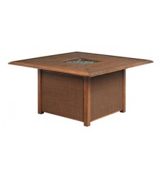 Ashley - Zoranne P764 Square Fire Pit Table - Beige/Brown (P764-772)