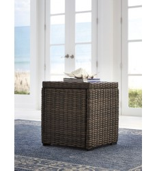 Ashley - Alta Grande P782 Square End Table - Beige/Brown (P782-702)