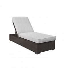 Ashley - Alta Grande P782 Chaise Lounge with Cushion - Beige/Brown (P782-815)