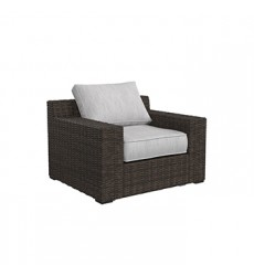 Ashley - Alta Grande P782 Lounge Chair w/Cushion (1/CN) - Beige/Brown (P782-820)