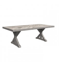 Ashley - Beachcroft RECT Dining Table w/UMB OPT - Beige ( P791-625 )