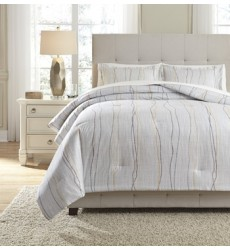Ashley - Bevan King Comforter Set - Multi ( Q330003K )