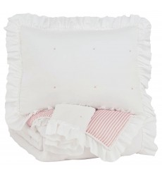 Ashley - Jenalyn  Q71200 Full Comforter Set - Light Pink/White(Q712003F)