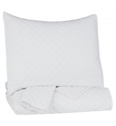 Ashley - Ryter  Q72100 Twin Coverlet Set - White(Q721001T)