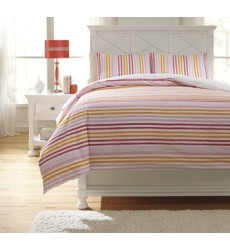 Ashley - Genista Q74100 Full Duvet Cover Set - Multi (Q741003F)