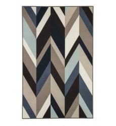 Ashley - Keelia R400482 Medium Rug - Blue/Brown/Gray (R400482)