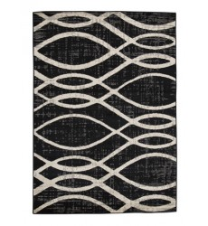 Ashley - Avi R402021 Large Rug - Gray/White (R402021)