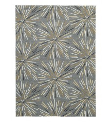 Ashley - Calendre R402191 Large Rug - Gray/Yellow/White (R402191)