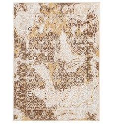 Ashley - Jariath R403182 Medium Rug - Ivory/Brown (R403182)