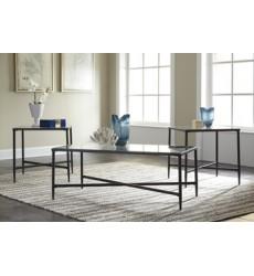Ashley - Augeron T003 Occasional Table Set (3/CN) - Black (T003-13)