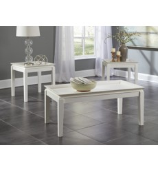 Ashley - Ardintown Occasional Table Set (3/CN) - White ( T262-13 )