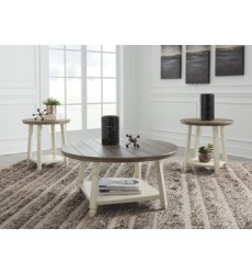 Ashley - Bolanbrook T377 Occasional Table Set (3/CN) - Two-tone (T377-13)