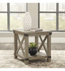 Ashley - Aldwin T457 Rectangular End Table - Gray (T457-3)
