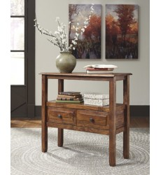 Ashley - Abbonto T800 Accent Table - Warm Brown (T800-124)