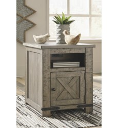 Ashley - Aldwin T837 Rectangular End Table - Gray (T837-3)
