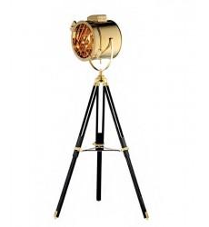Gold stainless steel frame Floor Lamps (AV17G) - Bethel International