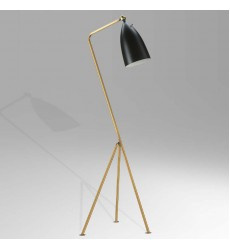 BI - Brass Finish Floor Lamps (BEL01BLK)