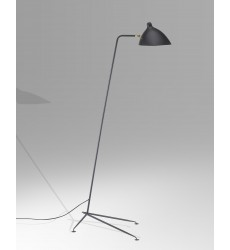 Aluminum Shade Floor Lamps (BEL22BLK)
