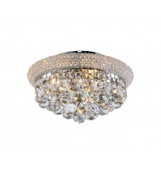 BI - Clear Crystal  Flush Mount (BET07CH)