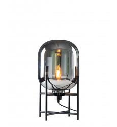 Matte Black Finish Table Lamp (DU111SMK) - Bethel International