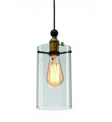 clear glass shade Single Pendant Lighting (DU39)