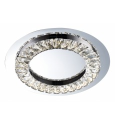 BI - Chrome Finish LED Flush Mount (FT04)